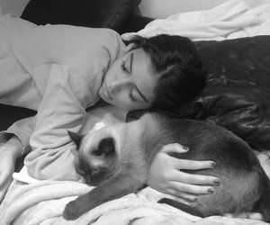 cat, cindy kimberly, and girl image