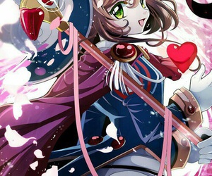 anime, sakura, and card captor sakura image