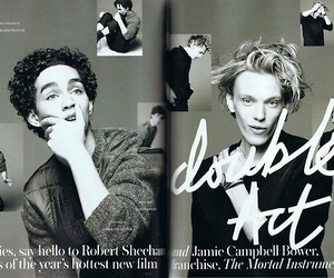 robert sheehan and Jamie Campbell Bower image