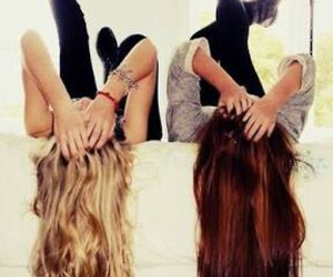 Best, hair, and friendship image
