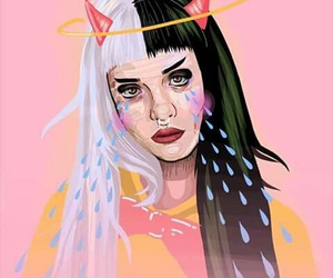 art, cry baby, and melanie image