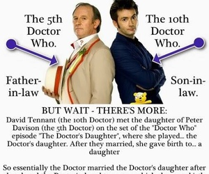 doctor who, david tennant, and time travel image