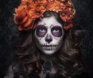 dia de muertos and halloween costume image