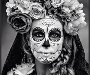 makeup and sugar skull image