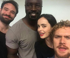 daredevil, Marvel, and luke cage image
