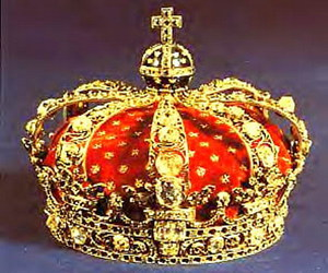 crown, gold, and swedish image