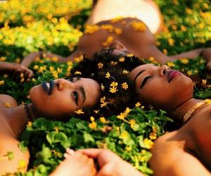 beautiful, black woman, and african american women image