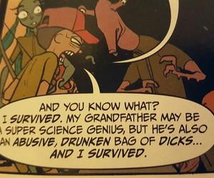 comic and rick and morty image
