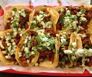 tacos al pastor and love tacos image