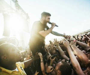 concert, metal, and a day to remember image