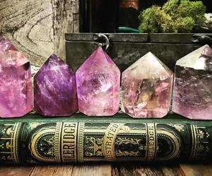 crystal and book image
