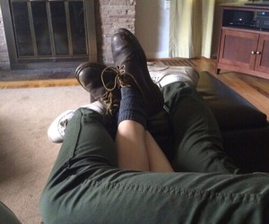 couple, theme, and green image