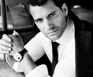 Henry Cavill, handsome, and actor image