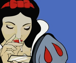 snow white, cocaine, and drugs image