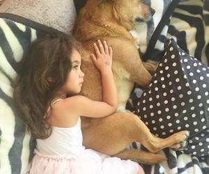 babies, cute baby, and dog image