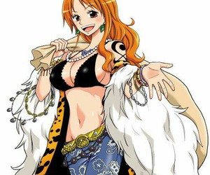 anime girl, ñami, and one piece image