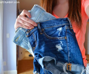 shorts, tumblr, and jeans image