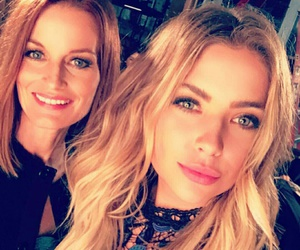 ashley, hanna, and pretty little liars image