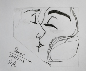 art, beuty, and couples image