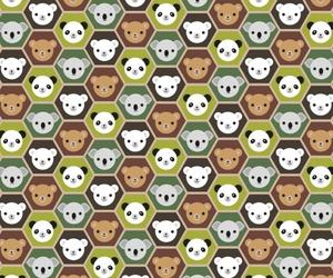 animals, background, and bear image