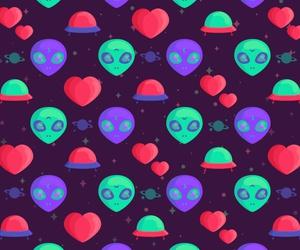 alien, et, and pattern image