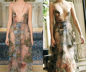 dress, spring 2016, and Valentino image