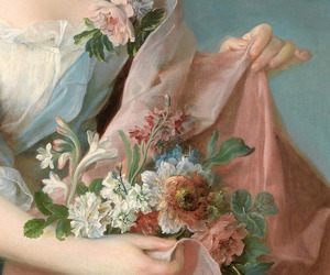 18th century, art, and flowers image