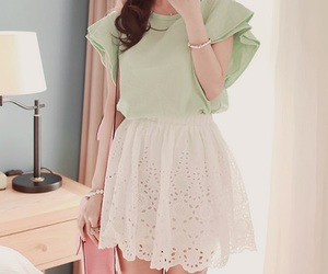 kfashion, dress, and fashion image
