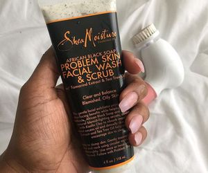scrub, skin care, and face wash image