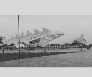 art, preto e branco, and museu image