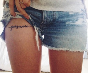 tattoo and persevere image
