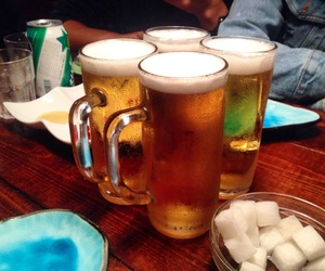 alcohol, beer, and cheers image