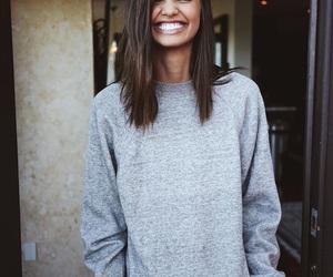 beautiful smile, big smile, and model image