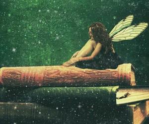 fairy, book, and fairytale image