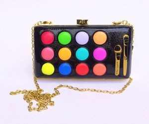 bag, colors, and rainbow image