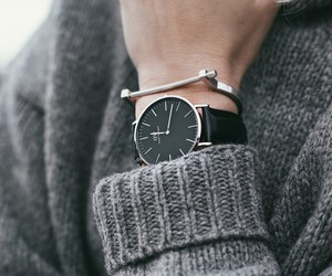 blogger, outfit, and watch image