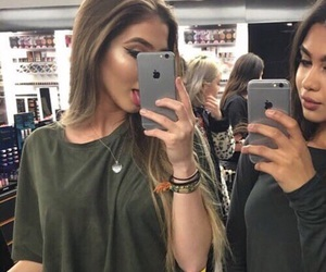 girl, best friends, and goals image