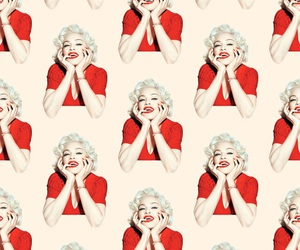 wallpaper, pattern, and madonna image