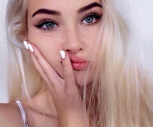 aesthetic, beauty, and blondes image