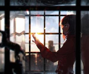 anime, art, and light image