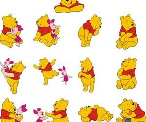 cartoon, pooh, and cute image