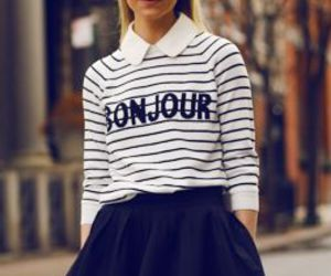 cool, moda, and bonjour image