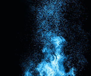 fire and night image