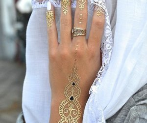 Blanc, orientale, and gold image