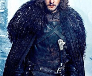 Jon, snow, and gameofthrones image