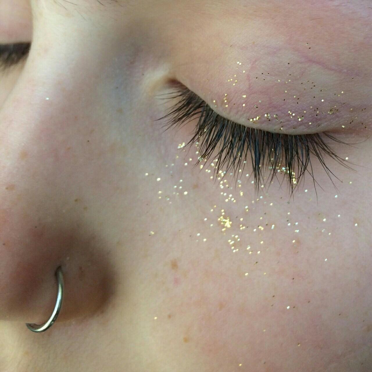 eyes, girl, and shine image