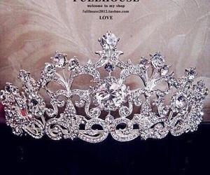 crown, diamond, and luxury image