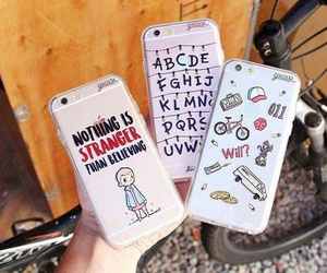 cute, phone, and stranger things image