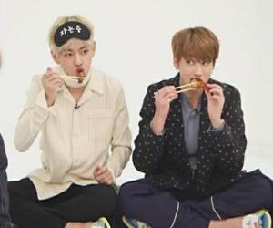 bts, jungkook, and taehyung image