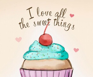 cupcake, wallpaper, and sweet image